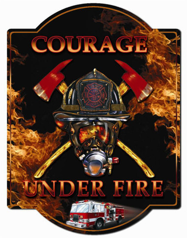 FIrefighter Wall Sign