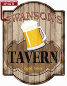 Personalized Tavern Wall Sign