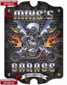 Skull Motor Garage Sign