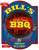 Personalized BBQ Wall Sign