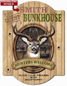 Hunting Cabin Wall Sign