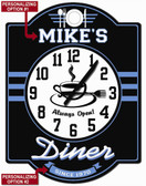Personalized Diner Wall Clock