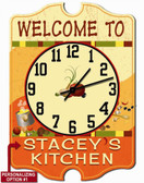 Personalized Kitchen Wall Clock