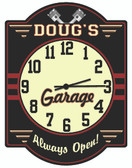 Mechanic Garage Clock