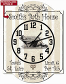 Bath House Wall Clock