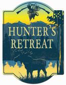 Hunters Retreat Sign