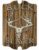 Buck Slayer Wall Sign