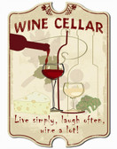 Wine Cellar Wall Sign
