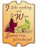 Decorative Wine Sign