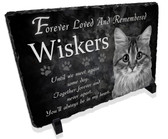 Cat Pet Memorial Stone Plaque