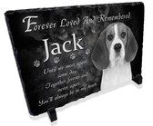 Dog Pet Memorial Stone Plaque
