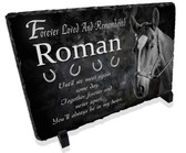Horse Pet Memorial Stone Plaque