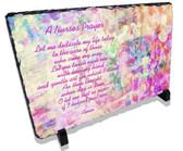 Decorative Nurses Prayer Stone Plaque