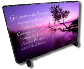 Decorative Serenity Prayer Stone Plaque