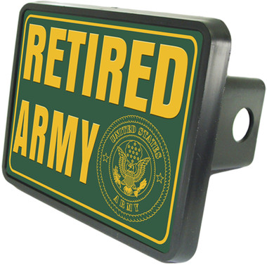 Retired Army Hitch Plug Side View