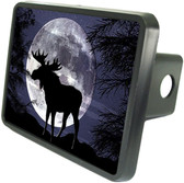 Evening Moose Trailer Hitch Plug Side View
