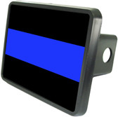 Police Bar Trailer Hitch Plug Side View