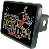 Beer Hunter Trailer Hitch Plug Side View