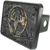 Bow Hunter Skull Trailer Hitch Plug Side View