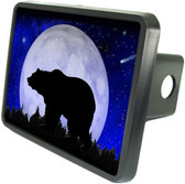 Night Bear Trailer Hitch Plug Side View
