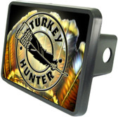 Turkey Hunter Trailer Hitch Plug Side View