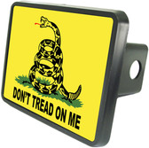 Don't Tread On Me Trailer Hitch Plug Cover