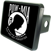 POW MIA Trailer Hitch Plug Side View