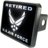 Retired Air Force Trailer Hitch Plug Side View