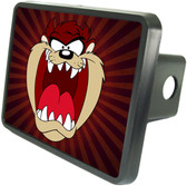 Tasmanian Devil Trailer Hitch Plug Side View