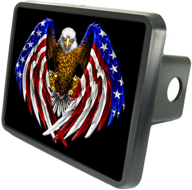 USA Eagle Trailer Hitch Plug Side View