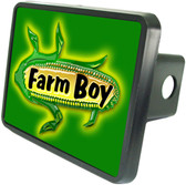 Farm Boy/Girl Trailer Hitch Plug Cover