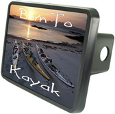 Born To Kayak Trailer Hitch Plug Side View