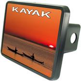Kayak Trailer Hitch Plug Side View