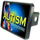 Autism Trailer Hitch Plug Side View