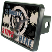 Buck Stops Here Trailer Hitch Plug Side View