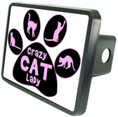 Cat Lady Trailer Hitch Plug Side View