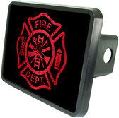 Fire Dept Trailer Hitch Plug Side View