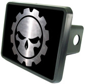 Gear Skull Trailer Hitch Plug Side View