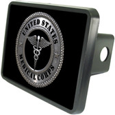 Medical Corp Trailer Hitch Plug Side View