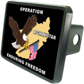 Operation Enduring Freedom Trailer Hitch Plug Side View