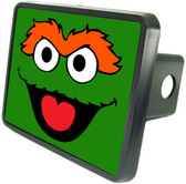 Oscar The Grouch Trailer Hitch Plug Side View