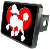 Poodle Trailer Hitch Plug Side View