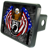 POW Eagle Trailer Hitch Plug Side View