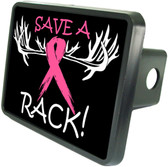Save A Rack Trailer Hitch Plug Side View