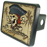 Pirate Scallywag Trailer Hitch Plug Side View