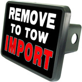Tow Import Trailer Hitch Plug Side View