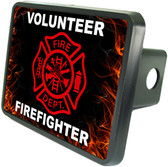 Volunteer Firefighter Trailer Hitch Plug Side View