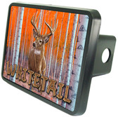 Whitetail Deer Trailer Hitch Plug Side View