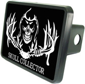 Skull Collector Trailer Hitch Plug Side View