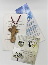 10 Caring Cross Key Chain